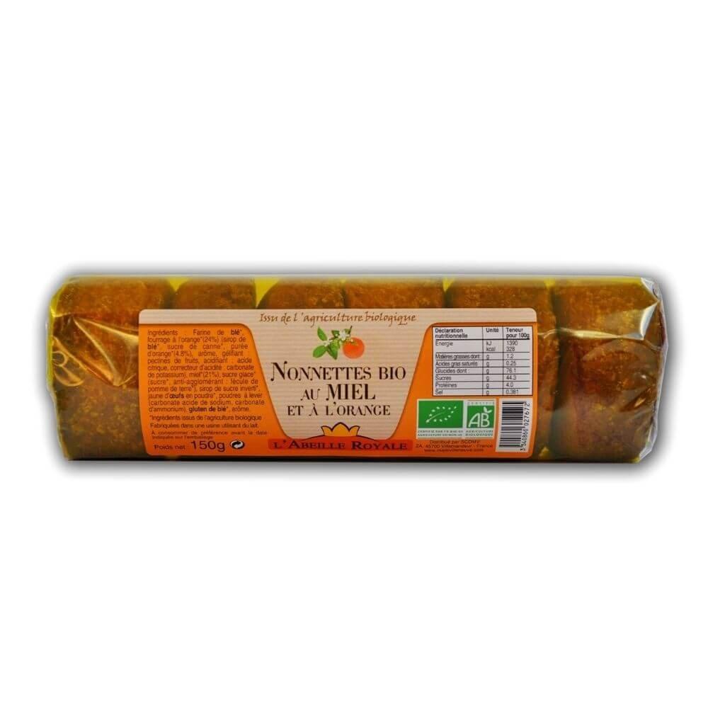 img-abeille-royale-nonnettes-au-miel-fourrees-a-lorange-bio-150g