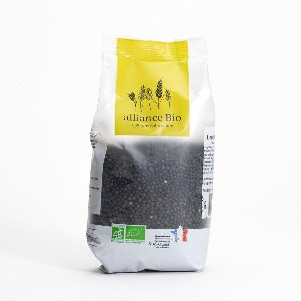 img-alliance-bio-lentilles-noires-origine-france-bio-500g