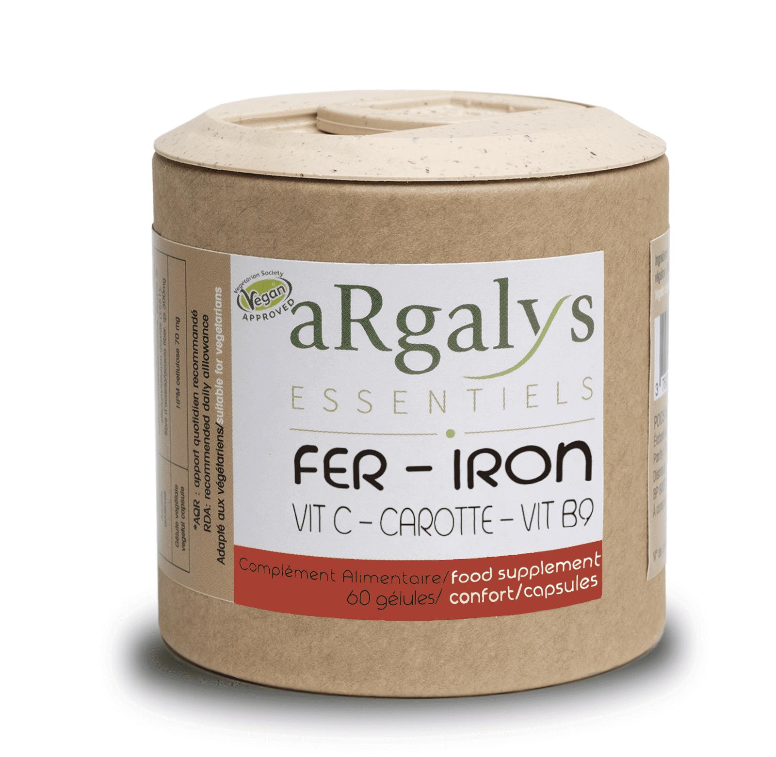 img-argalys-fer-vitamine-c-b9-et-carotte-60-gelules