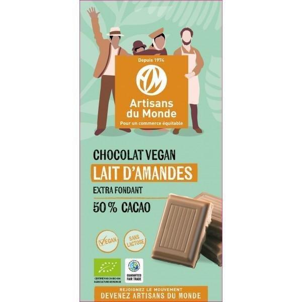 img-artisans-chocolat-vegan-equitable-lait-amandes-100g