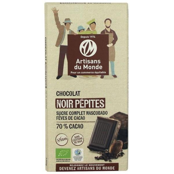 img-artisans-du-monde-chocolat-noir-pepites-73-bio-et-equitable-100g