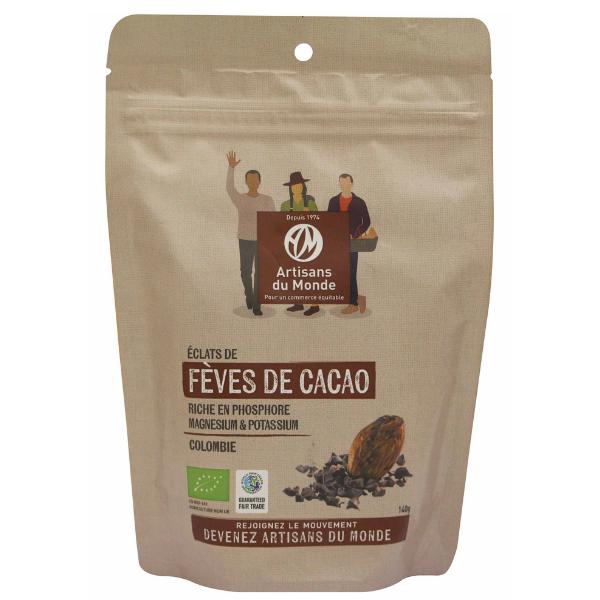 img-artisans-du-monde-feves-de-cacao-bio-et-equitables-140g