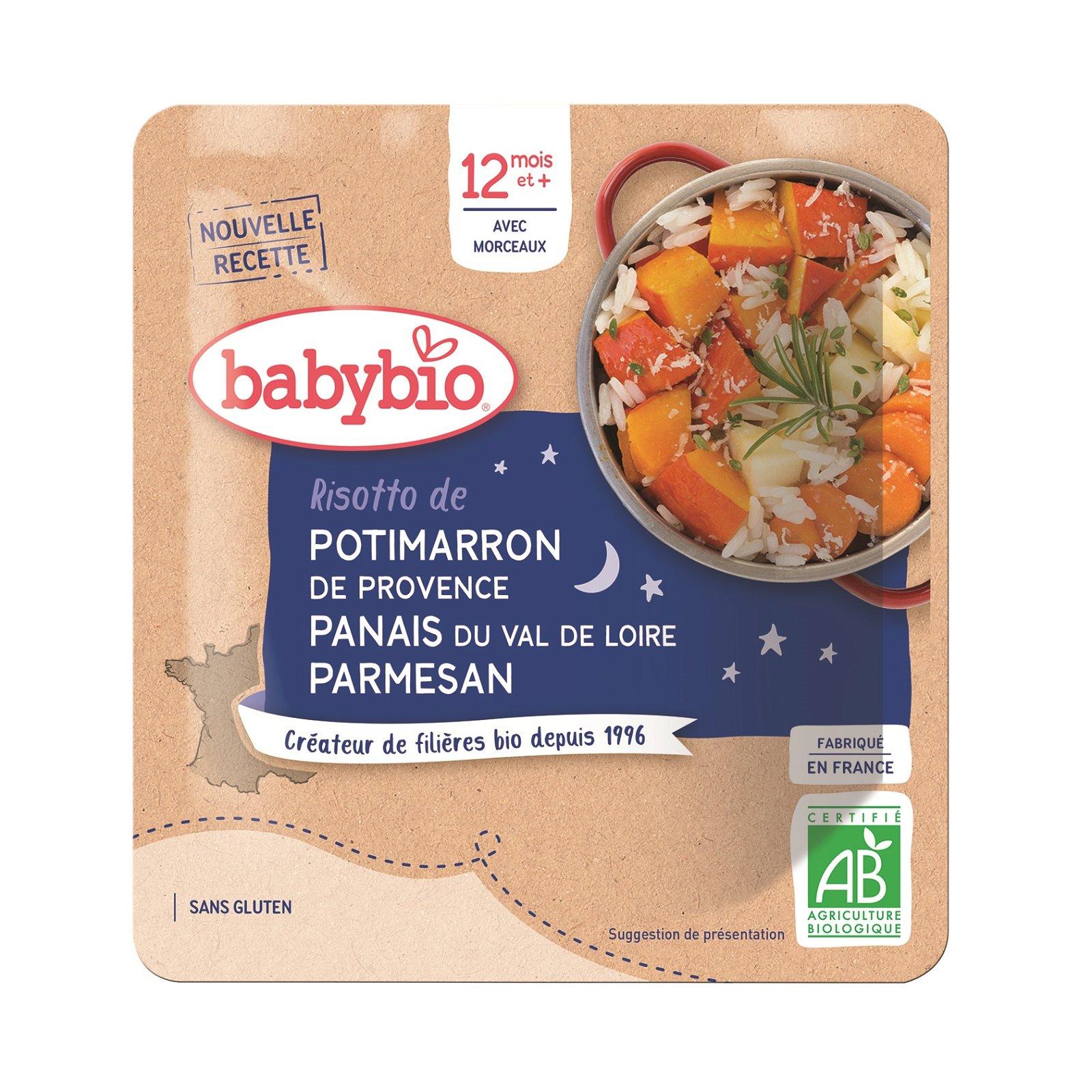 img-babybio-poche-bonne-nuit-risotto-de-potimarron-de-provence-panais-parmesan-bio-0-19kg