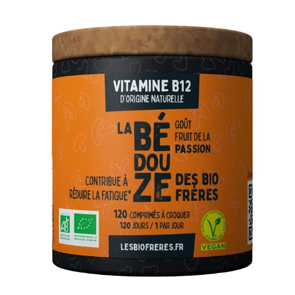 img-bio-freres-vitamine-b12-bedouze-passion-bio-120vegan-vitamine-dorigine-naturelle-packing-eco-concu-sans-plastique-et-reutilisable