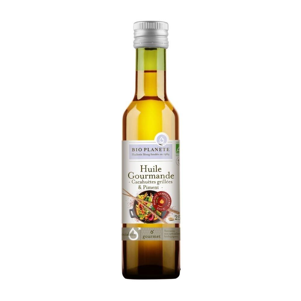 img-bio-planete-huile-gourmande-cacahuetes-grillees-et-piment-bio-0-25l