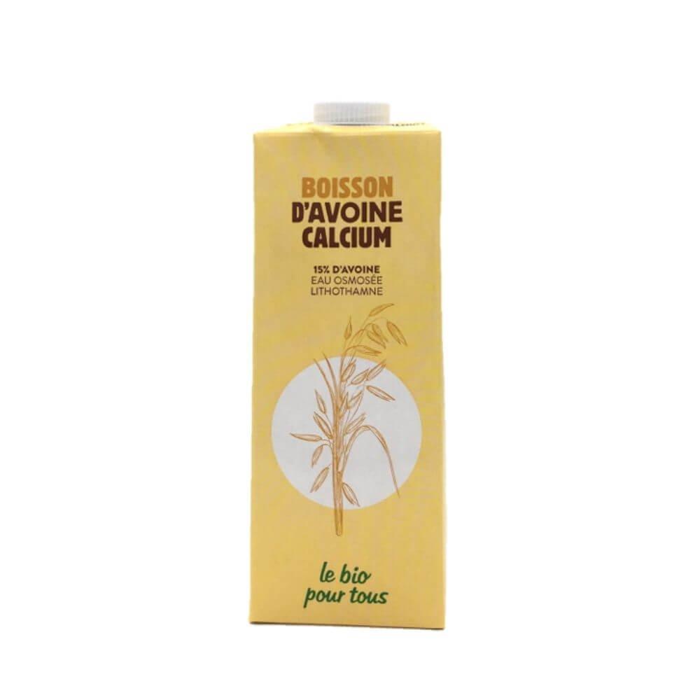 Boisson Avoine Calcium Origine Italie Bio