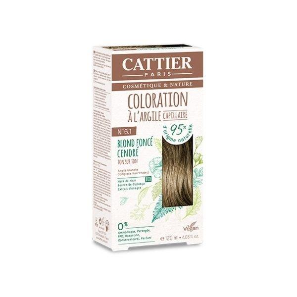 img-cattier-coloration-a-largile-6-3-blond-fonce-cendre-120ml