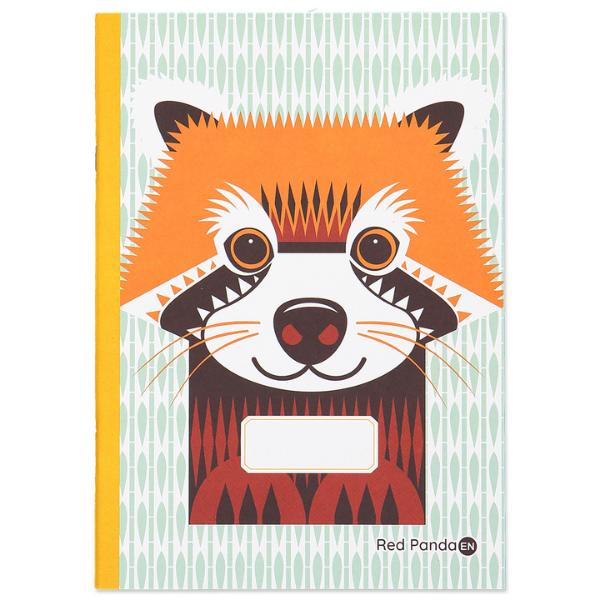 img-coq-en-pate-cahier-panda-roux-a5-48p-en-coton-bio-1unite