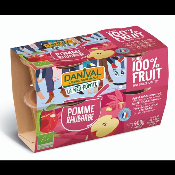 img-danival-dessert-de-fruits-pomme-rhubarbe-4x100g