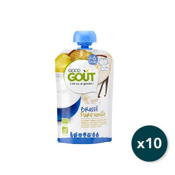 img-good-gout-pack-gourde-x10-brasse-poire-vanille-des-6-mois-90g-bio