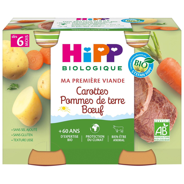 img-hipp-carottes-pommes-de-terre-boeuf-2x190g-bio-petits-pots