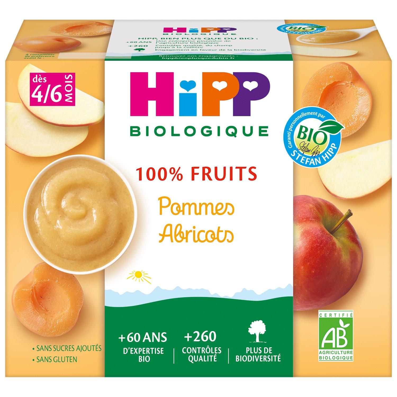 img-hipp-coupelles-pommes-abricots-des-4-6-mois-4x100g-bio
