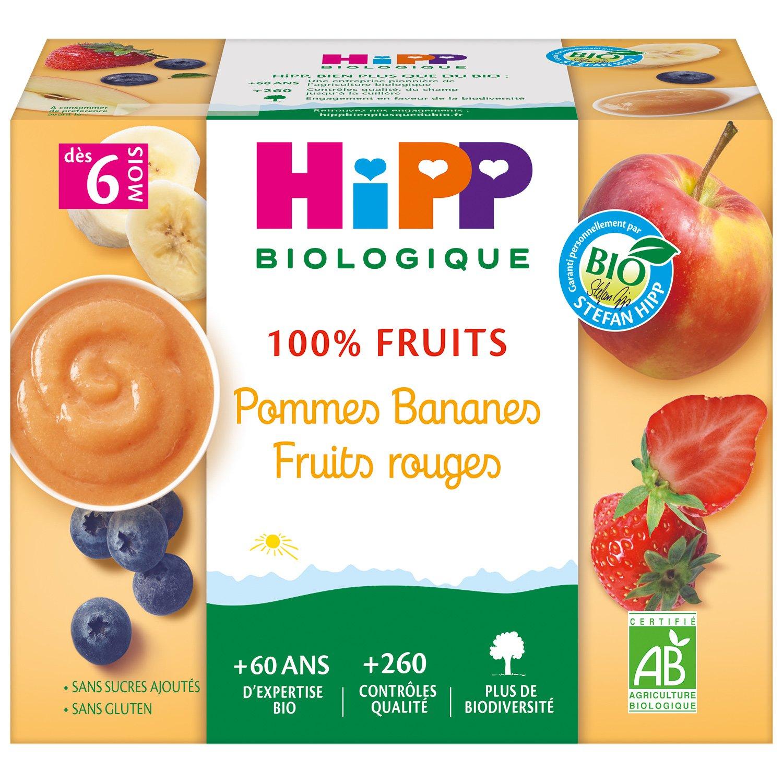 img-hipp-coupelles-pommes-bananes-fruits-rouges-des-6-mois-4x100g-bio