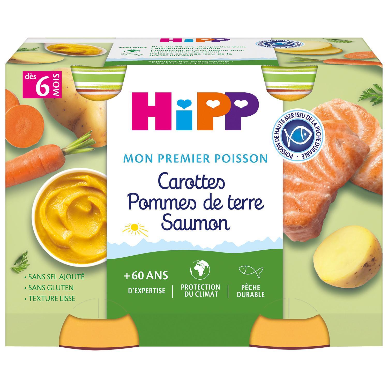 img-hipp-petits-pots-carottes-pommes-de-terre-saumon-des-6-mois-2x190g-bio