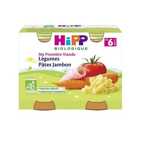 img-hipp-petits-pots-legumes-pates-jambon-des-6-mois-2x190g-bio