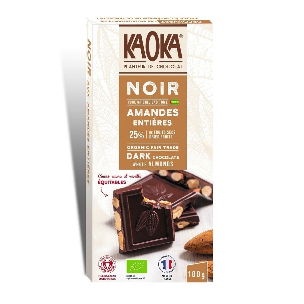 img-kaoka-tablette-gourmande-chocolat-noir-amandes-entieres-66-180g
