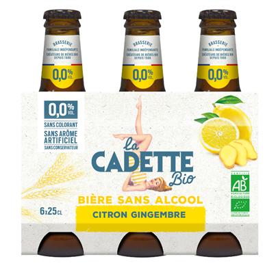 img-la-cadette-biere-sans-alcool-0-citron-et-gingembre-bio-6x25cl-1-5l