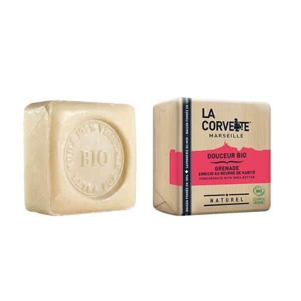 img-la-corvette-savonnette-douceur-karite-et-grenade-100g-bio