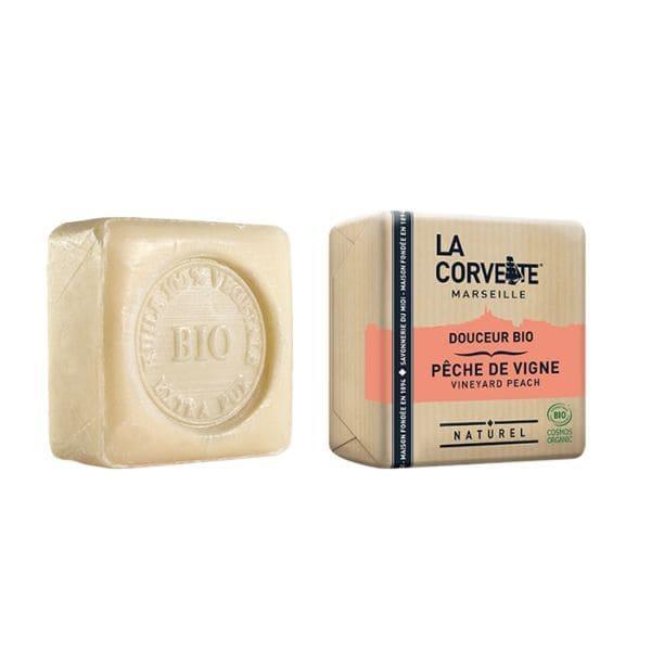 img-la-corvette-savonnette-douceur-peche-de-vigne-100g-bio