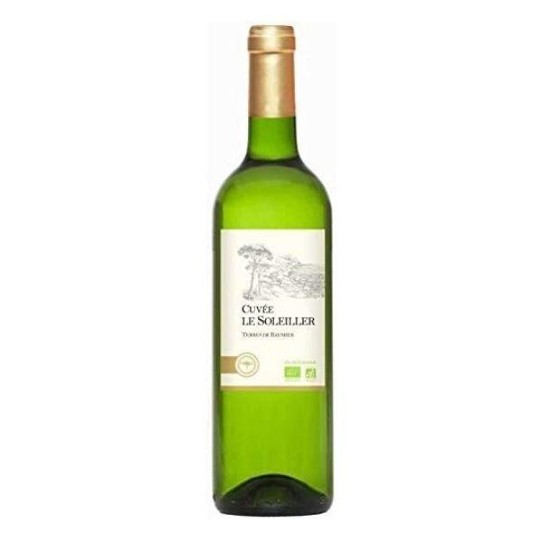 Vin de France Blanc Cuvée Le Soleiller Bio