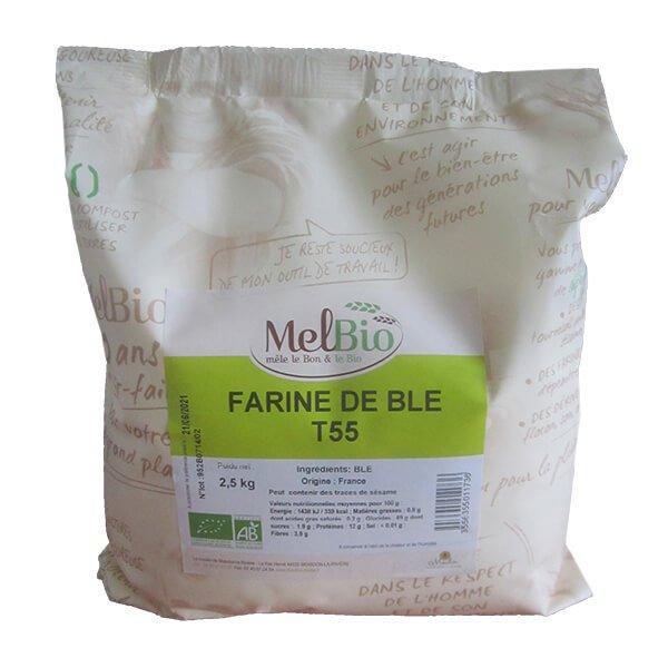 Farine De Blé T55 Bio