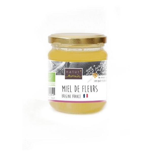img-natur-avenir-miel-de-fleurs-origine-france-bio-250g