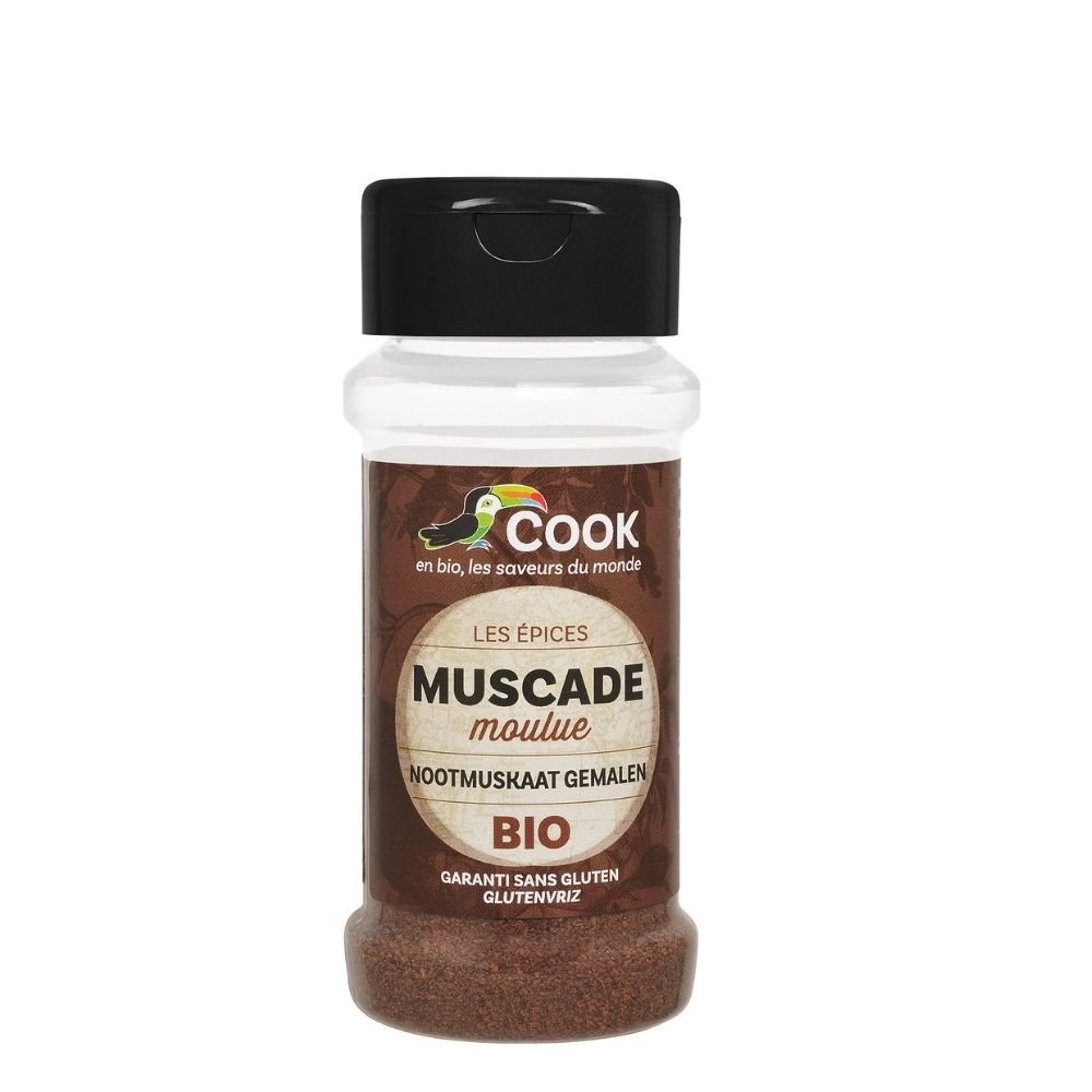 Noix De Muscade Moulue Bio