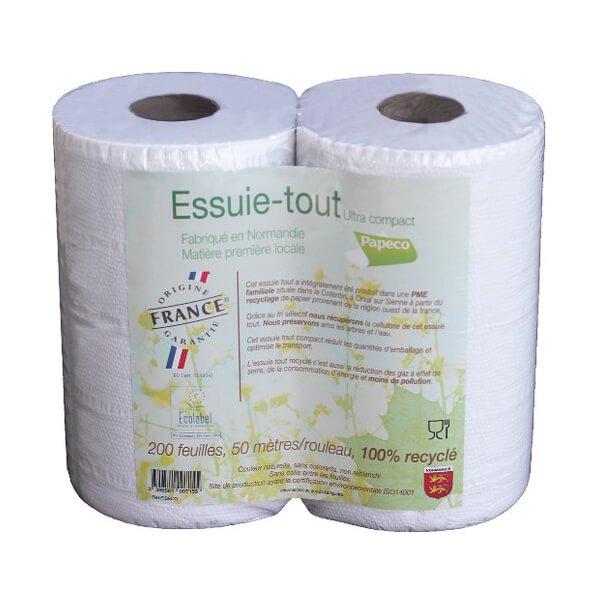img-papeco-essuie-tout-blanc-100prct-recycle-origine-france-200-feuilles-ecologique