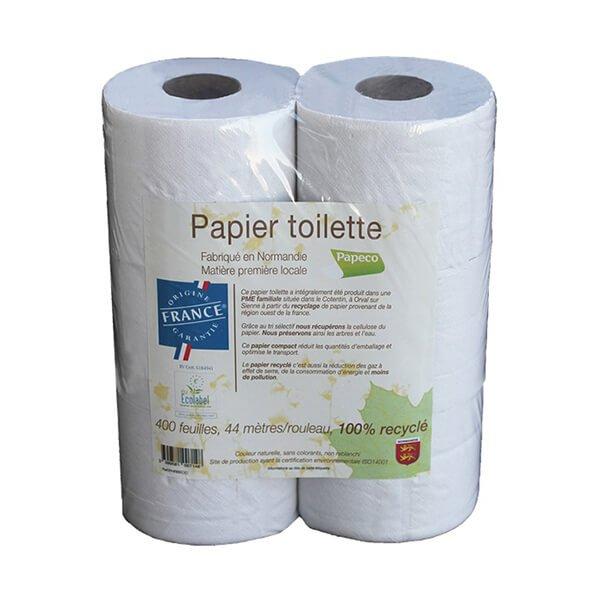img-papeco-papier-toilette-blanc-100prct-recycle-origine-france-400-feuilles-ecologique