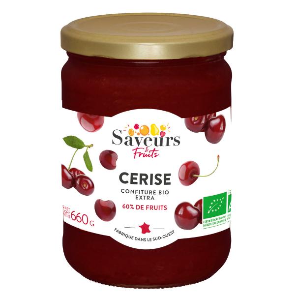 img-saveurs-et-fruits-confiture-extra-de-cerise-bio-0-95confiture-bio-saveur-attitudes-cuite-sous-vide-a-basse-temperature-pour-preserver-les-qualites-des-fruits