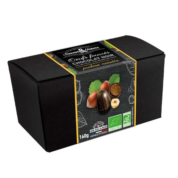 img-saveurs-et-nature-ballotin-petits-oeufs-pralines-chocolat-noir-bio-160g