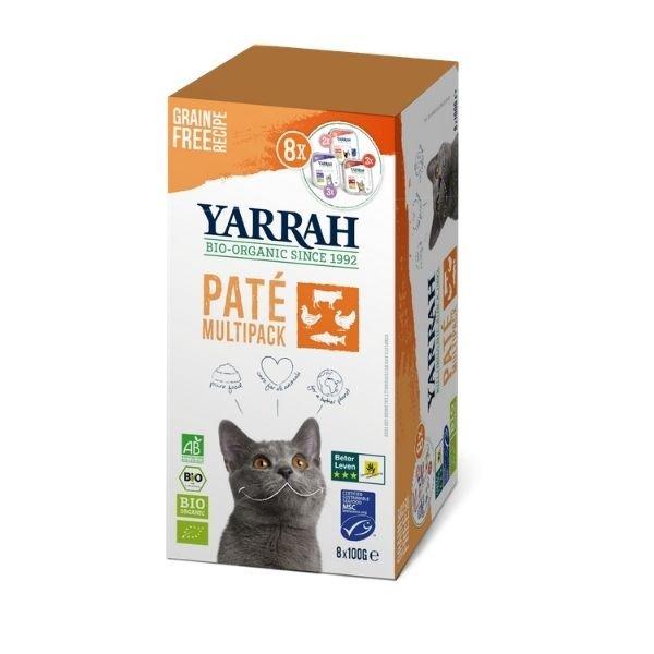 img-yarrah-multipack-patee-pour-chat-3-saveurs-bio-8x100g